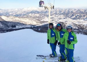 Snoworks GAP Class 2018 teaching in Japan
